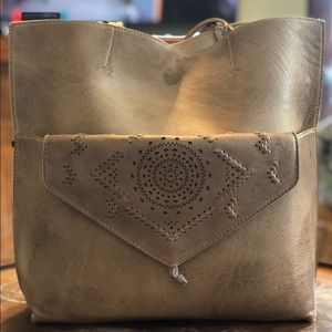 Anthropologie Thoma Tote and Clutch